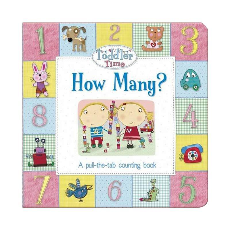 Genius Toddler Time How Many A Pull The Tab Shapes Buku Edukasi Anak