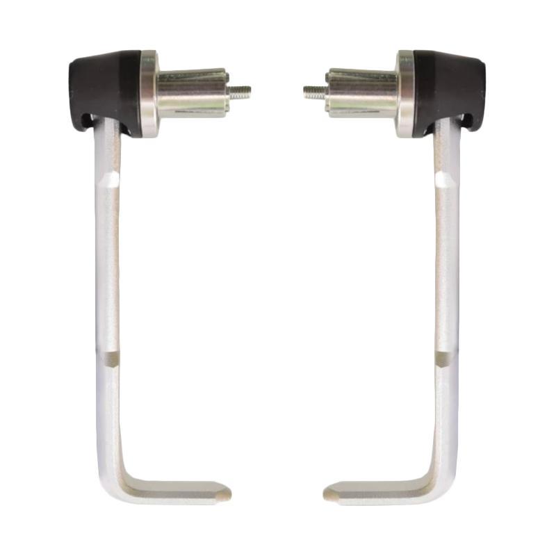 Raja Motor Proguard Universal Besi Babet Tebal Handguard - Silver [DKR6038-Silver]