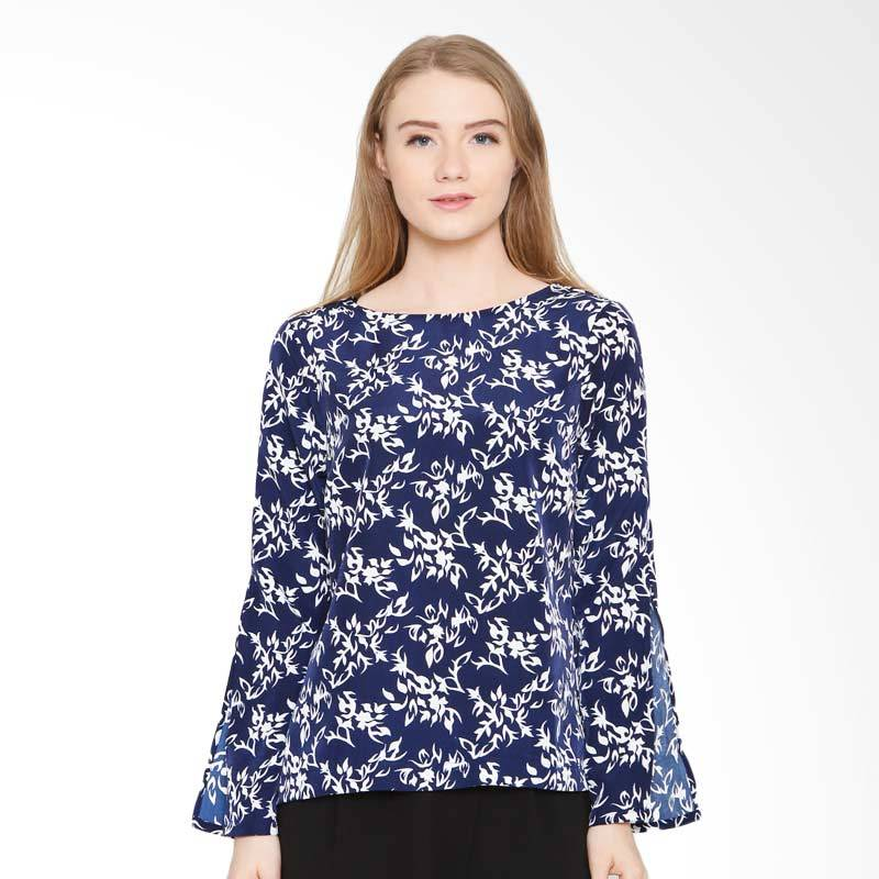 A&D Fashion Ms 977 Ladeis Blouse Casual - Navy