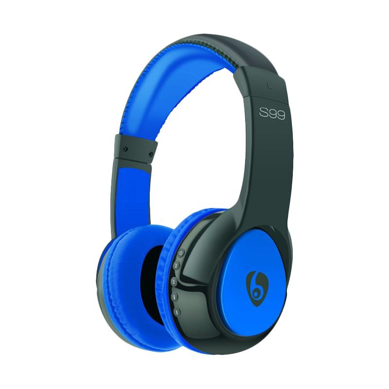 OVLENG S99 Original Wireless Bluetooth Music Headphones with Mic Noise Canceling - Biru