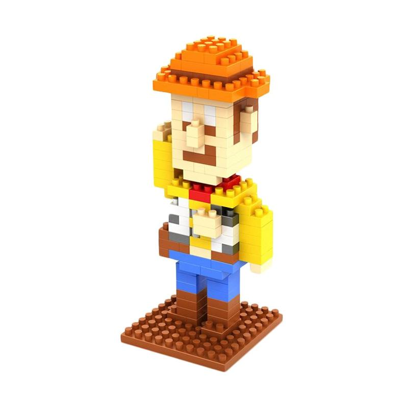 Loz Gift Medium 9128 Mainan Blok & Puzzle
