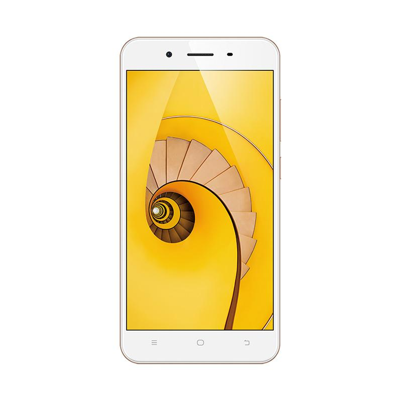harga VIVO Y65 Smartphone - Gold [16 GB/3GB] Free Speaker Bluetooth Dan I-Ring Blibli.com