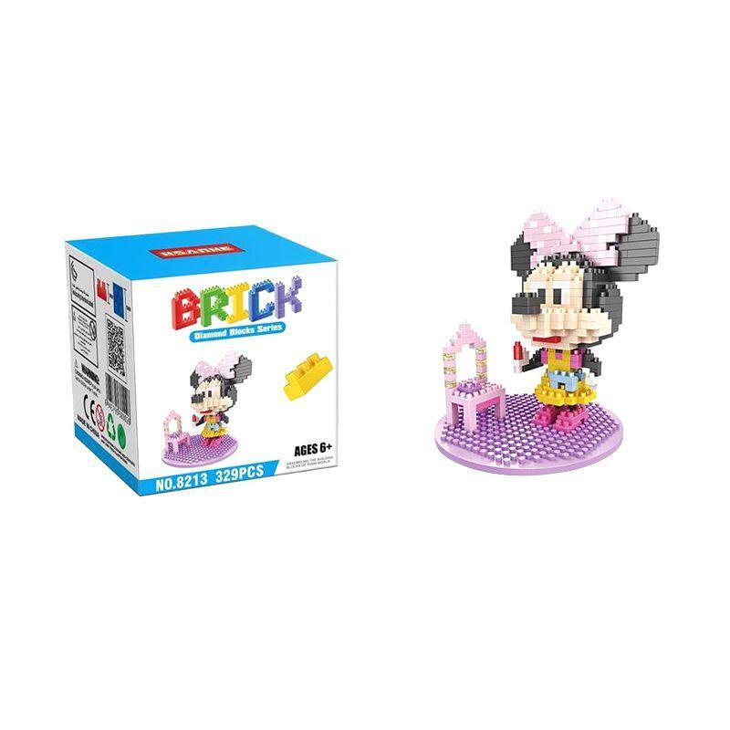 HSANHE 8213 Minnie Mainan Blok & Puzzle