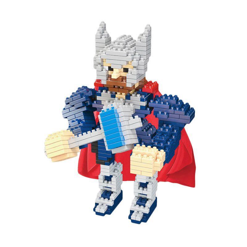 Wisehawk Lightning Giant 2205 Thor Mainan Blocks