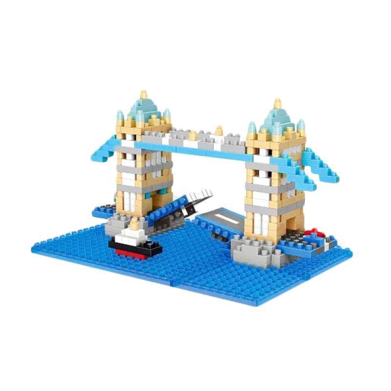 Wisehawk 2328 London Bridge Mainan Mini Block