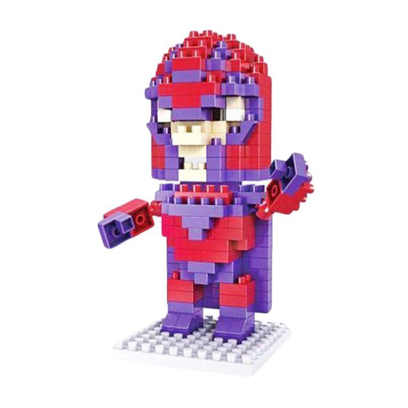 Hsanhe 8109 Magneto X Men Mainan Blok & Puzzle