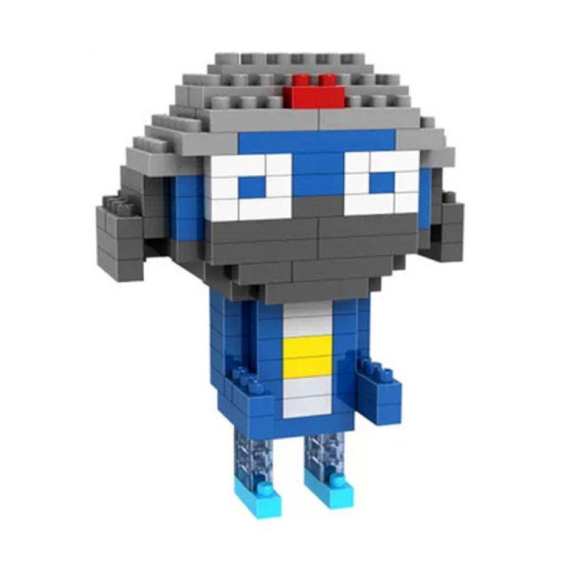 Loz Gift 9332 Mainan Blok dan Puzzle [Medium]