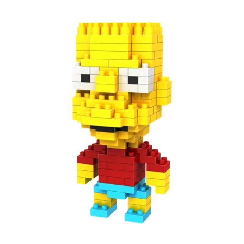 Loz Gift 9337 Mainan Blok dan Puzzle [Medium]