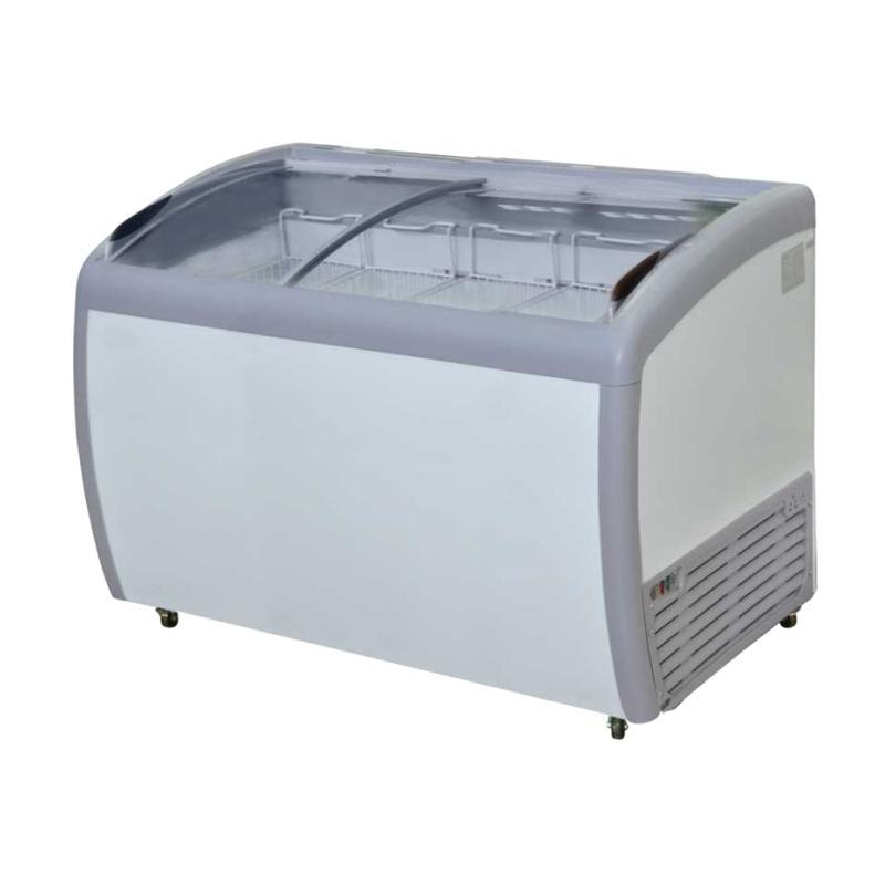 GEA GETRA SD-360BY Sliding Curve Glass Freezer