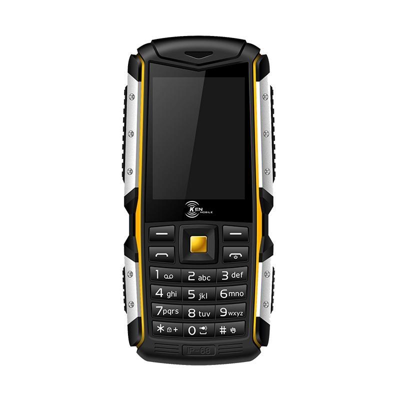 Ken Mobile W3I Pro Handphone - Yellow