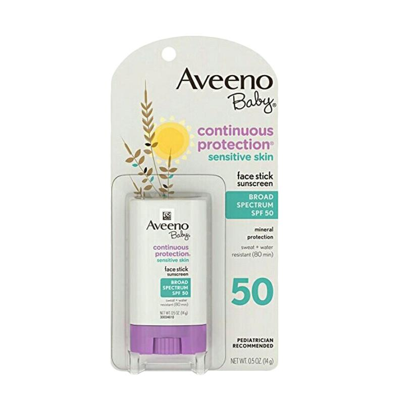 Aveeno Baby Face SPF50 Stick Sunscreen