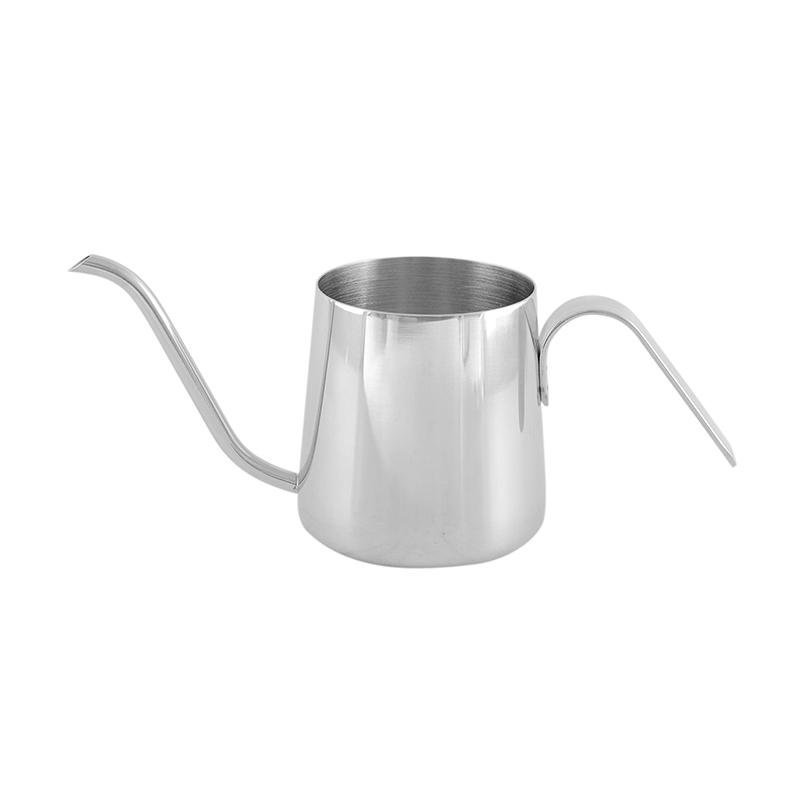 Worcas Leher Angsa Mini Kettle Kopi - Silver [230 mL]