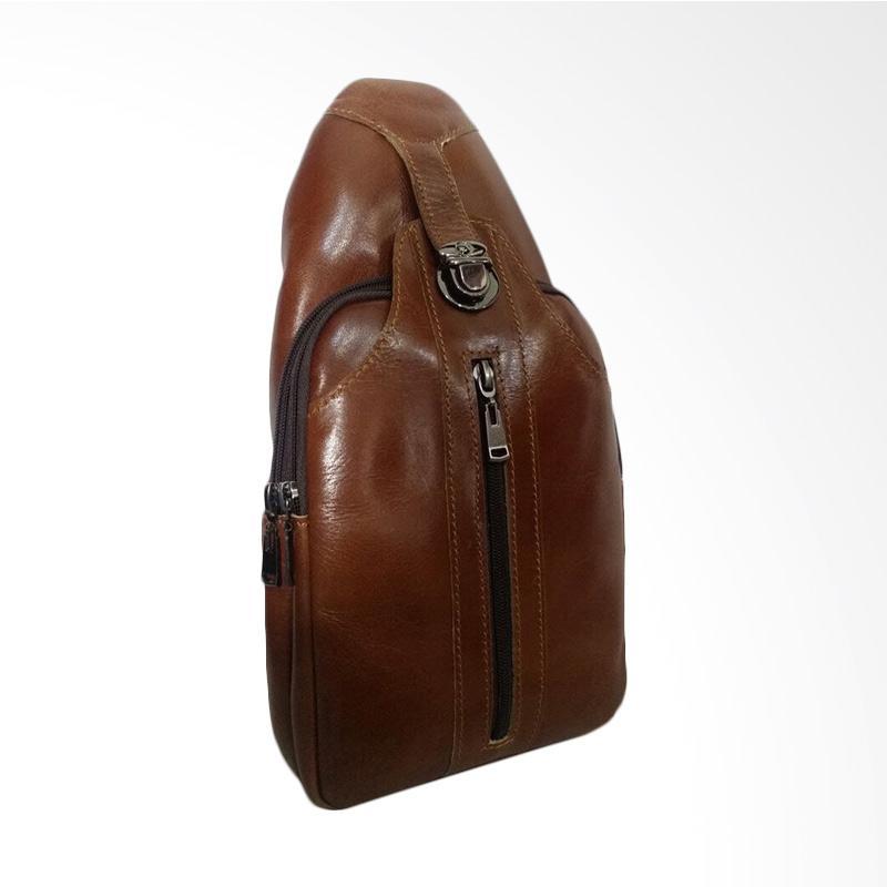 Hunter Design Tas Selempang Pria - Brown [0029]
