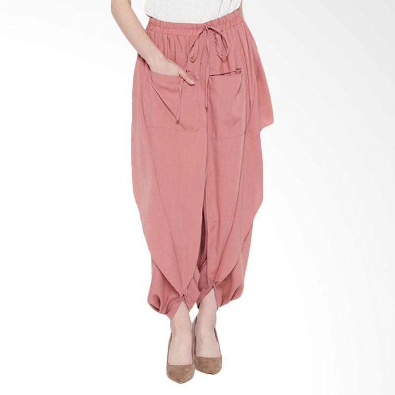 Delarosa Batiddle Culotte In Celana Muslim - Pink