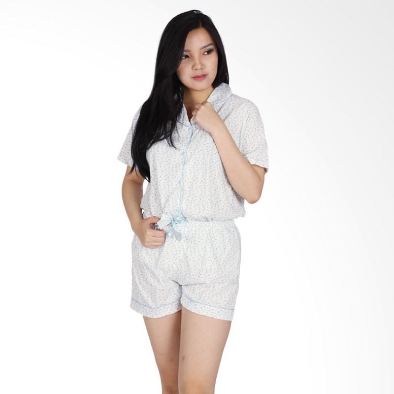 Baju Tidur Piyama Kerah BJ001|Baju Tidur Wanita|Baju tidur Dewasa