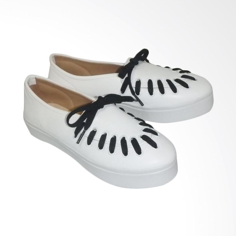 Anneliese Hani Sepatu Slip On Wanita - White