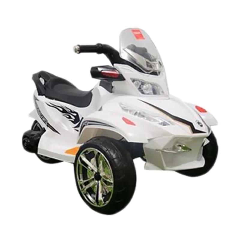 harga Junior TR1408 Mainan Motor Aki - Putih Blibli.com