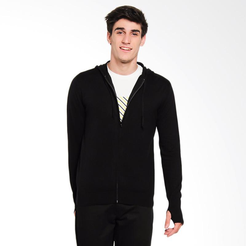 Greenlight GRLT Men Knit 0912 Sweater Pria - Black [209121716]