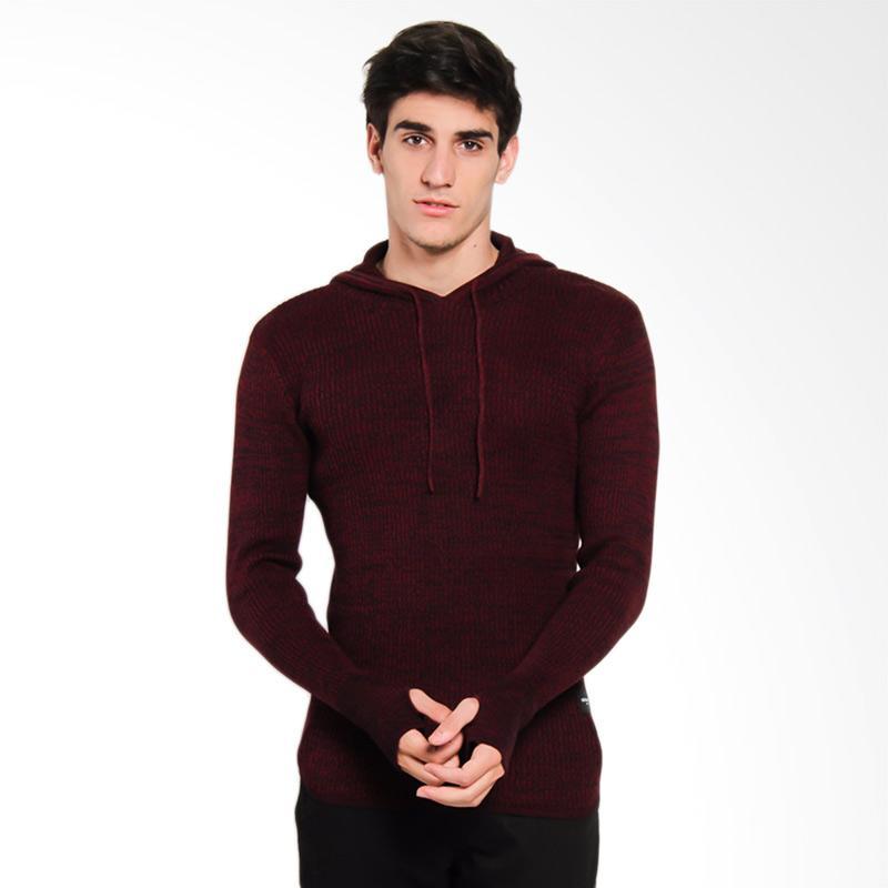 Greenlight GRLT Men Knit 1411 Sweater Pria - Red [214111716]