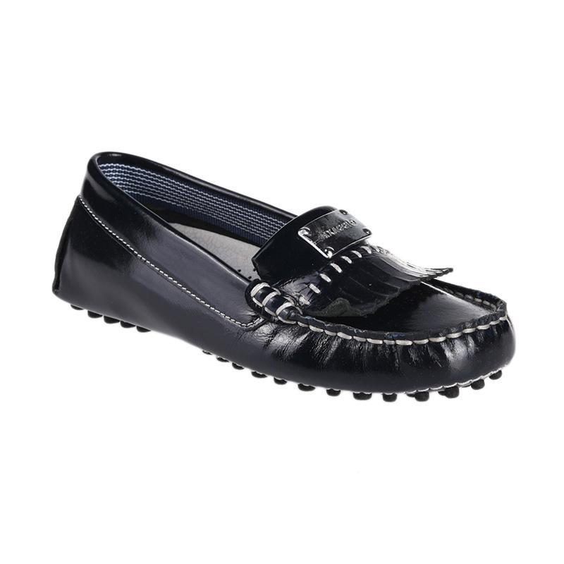 Aixaggio Chelsea Patent Sepatu Anak Perempuan - Black