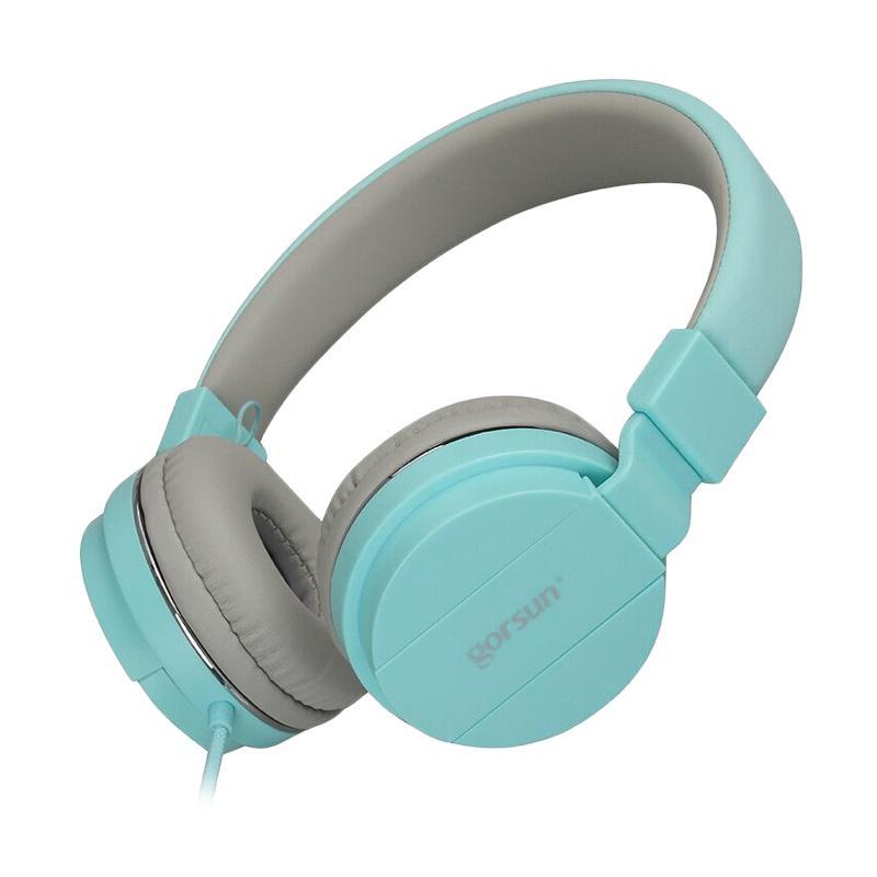 Gorsun Dynamic Solid Bass GS-779 Headset - Biru