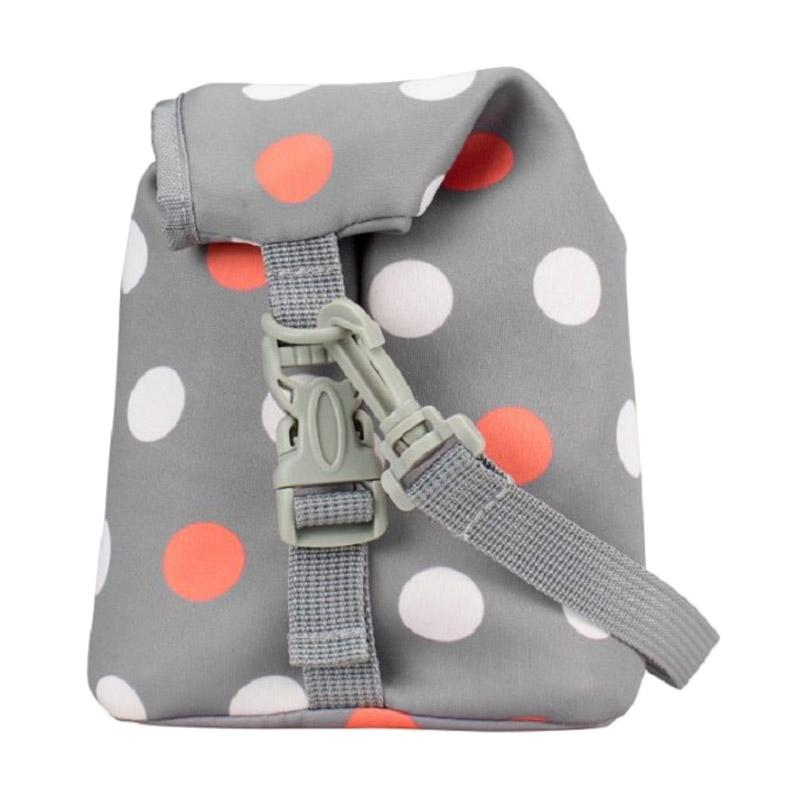 Dr. Brown's Polkadot Bottle Tote - Grey
