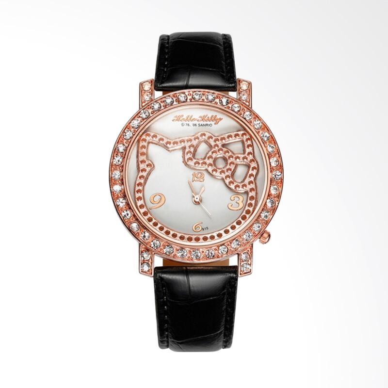 harga Hello Kitty WAT04154A Fashion Luxury Diamond Lady Cartoon Watch Jam Tangan Anak Perempuan - Black Blibli.com