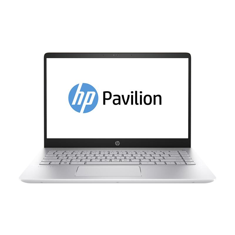 WEB_HP Pavilion 14-BF005TX Notebook - Gold [i5-7200U/8 GB/128 GB + 1 TB/GeForce 940MX 2 GB/ 14
