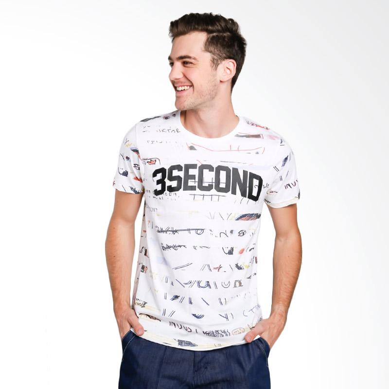 3SECOND 5912 Men T-shirt - White