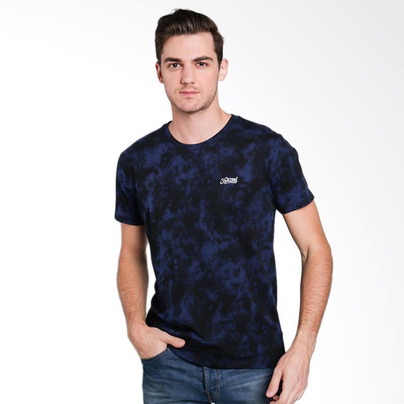 3SECOND 1512 Men T-shirt - Blue [115121712]