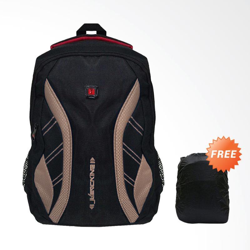 Bag & Stuff Daytona Laptop Backpack up to 14 Inch - Coklat