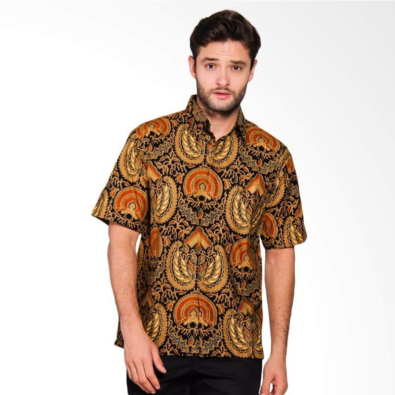 Adiwangsa Model Modern Slim Fit Baju Kemeja Batik Pria[005]