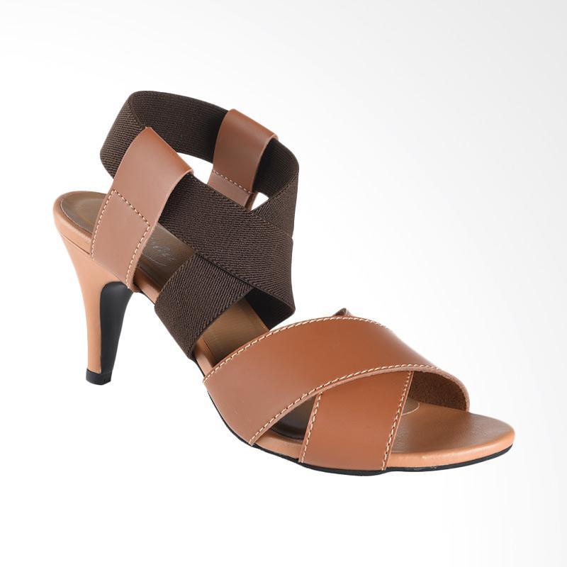 harga Lakeisha H_03_17 Poppy Sepatu Heels Wanita - Brown Blibli.com