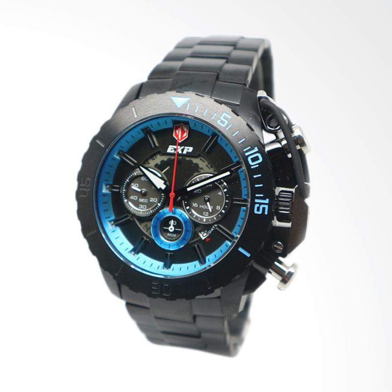 Expedition Jam Tangan Pria - Black Blue [EXP 3002]