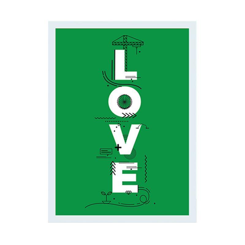 Cadrehome Love 5R Dekorasi Dinding