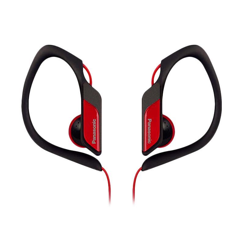 Panasonic RP-HS34E-R Sport Headset - Red