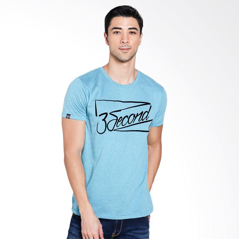 3SECOND Men 9601 T-Shirt Pria - Green