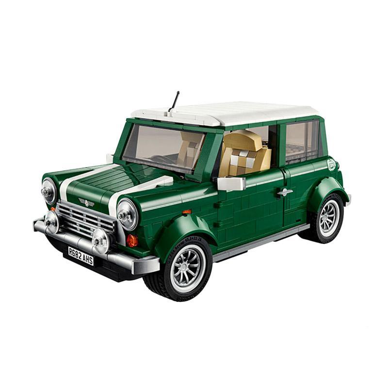 Lepin 21002 Mini Cooper Mainan Blok & Puzzle