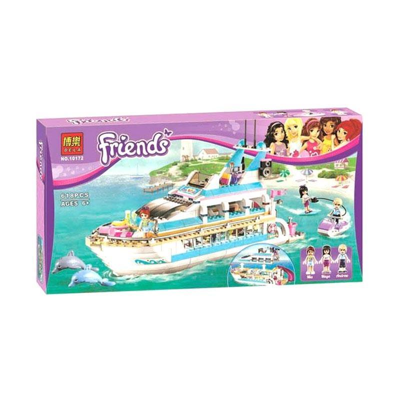 Bela 10172 Dolphin Cruiser Bricks Mainan Blok & Puzzle
