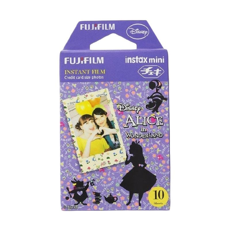 Fujifilm Instax Mini Alice in Wonderland Refill Film Kamera Polaroid [10 Sheets]
