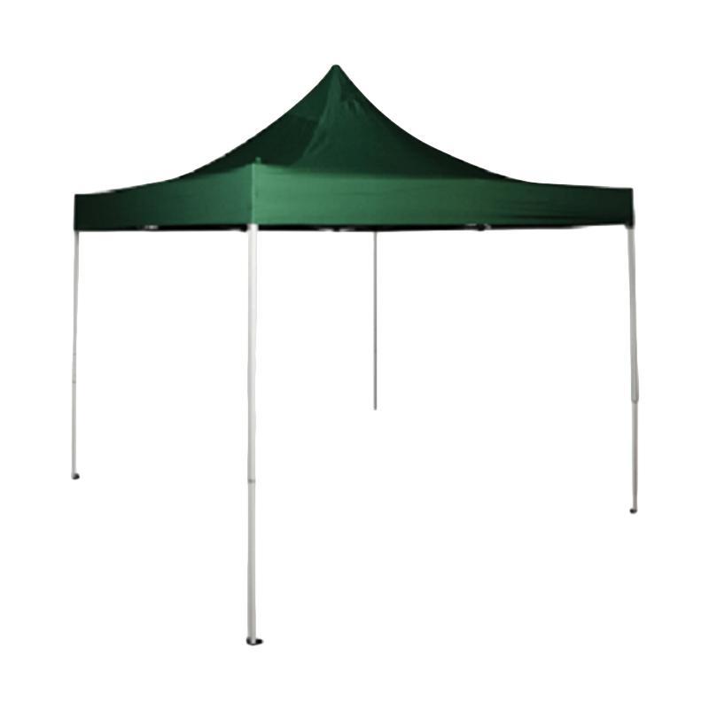 Krisbow Tenda Gazebo serbaguna  [2 x 2 meter] hijau