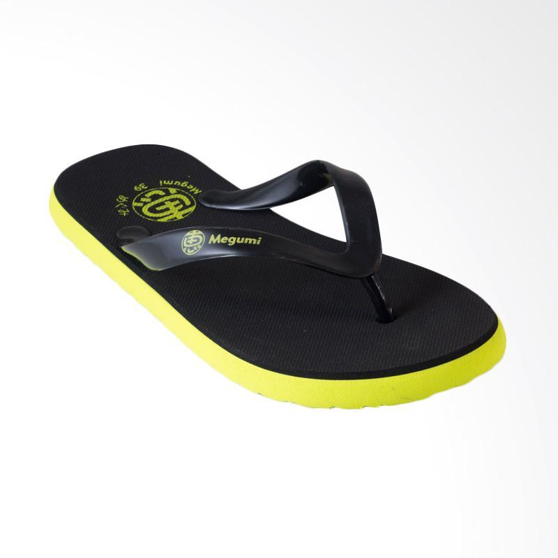 harga Megumi Opal Sandal Jepit Pria - Green Blibli.com