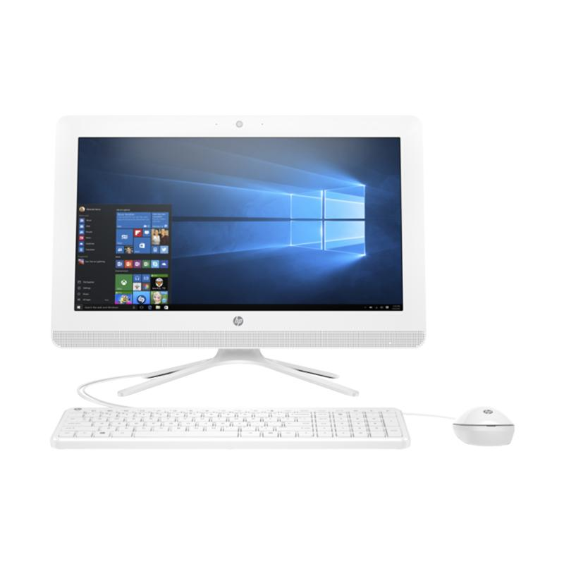 HP AIO PC 22-B302L WHITE - [Intel Core i3-7100U 2.40GHz/4GB/500GB/GT920MX 2GB/21.5