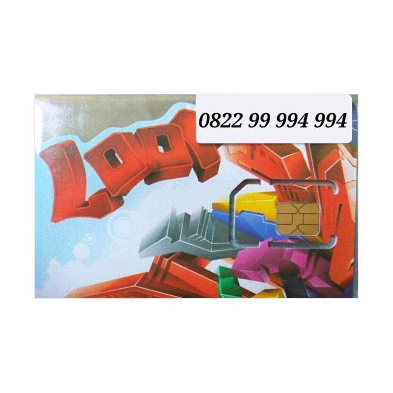 Telkomsel Simpati LOOP 4G LTE Nomor Cantik 0822 99 994 994 Kartu Perdana