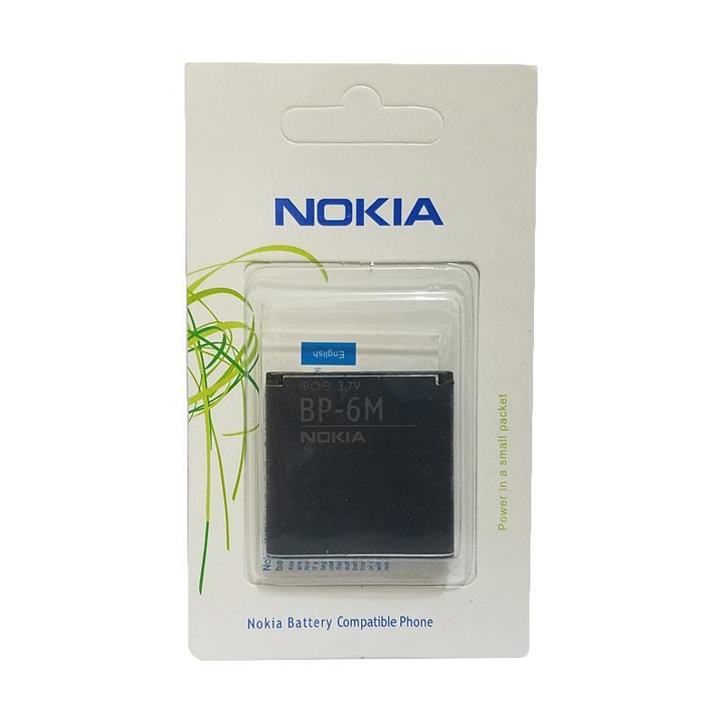 harga Nokia Original BP-6M Baterai Handphone for N73/N93/9300/6233 Blibli.com
