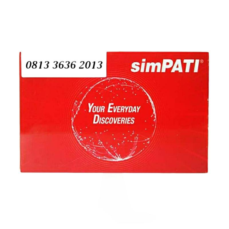 Telkomsel Simpati Nomor Cantik 0813 3636 2013 Kartu Perdana [4G LTE]