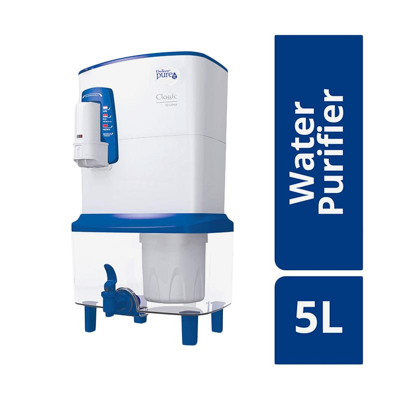 Unilever Pure It Water Purifier - Blue White [5 L]