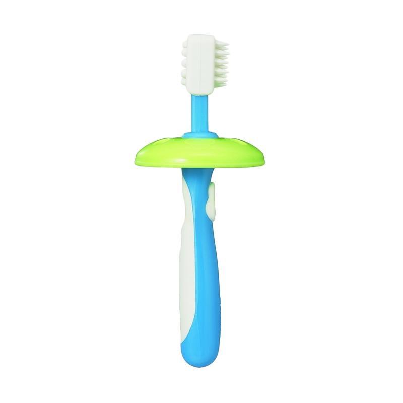 Jual Pigeon L-2 Training Toothbrush Sikat Gigi Anak - Blue Online - Harga  Promo 24541554c1