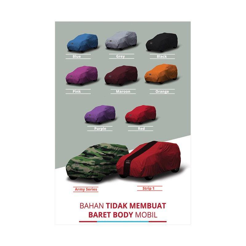 Jual Durable Selimut Cover Body Mobil For Mini Morris Paceman Grey