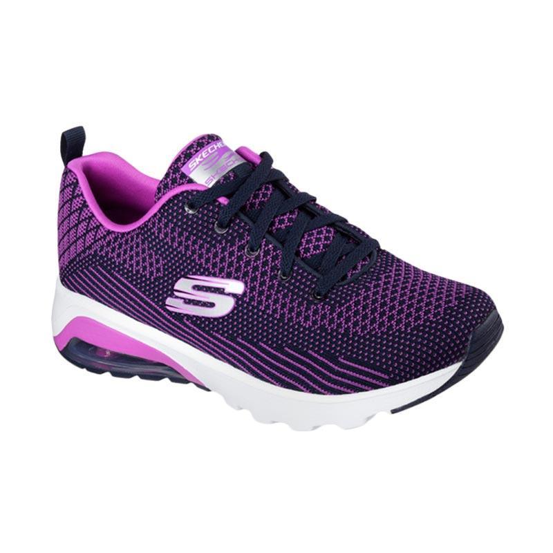 Skechers Air Varsity Sepatu Olahraga Wanita - Purple [12721NVPR]